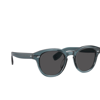 Oliver Peoples® Square Sunglasses: Cary Grant Sun OV5413SU color Washed Teal 1617R5.