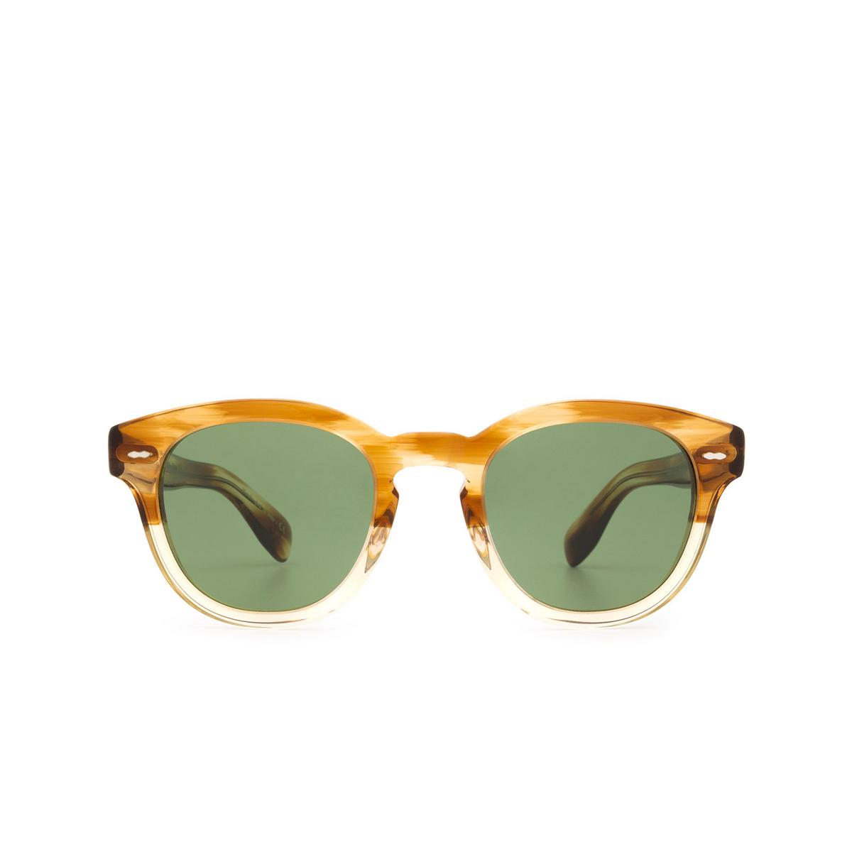 Oliver Peoples® Square Sunglasses: Cary Grant Sun OV5413SU color Honey Vsb 167452.