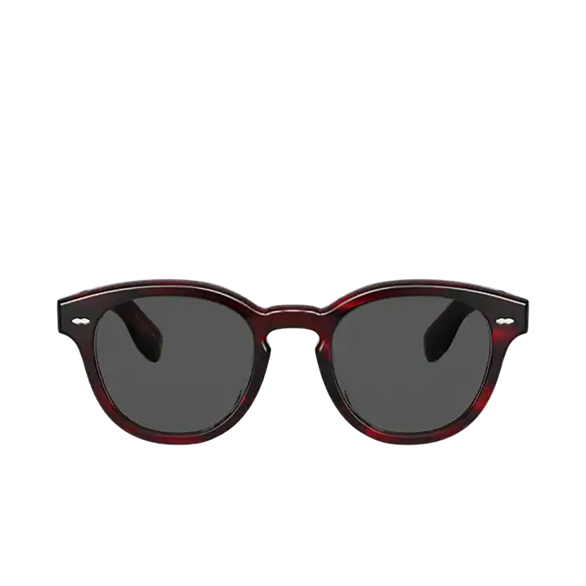 Oliver Peoples® Square Sunglasses: Cary Grant Sun OV5413SU color Bordeaux Bark 1675R5.