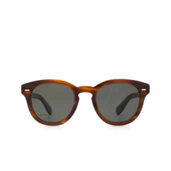 Oliver Peoples® Square Sunglasses: Cary Grant Sun OV5413SU color Grant Tortoise 1679P1.