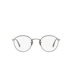 Oliver Peoples® Eyeglasses: Coleridge OV1186 color New Antique Gold / Black 5296.