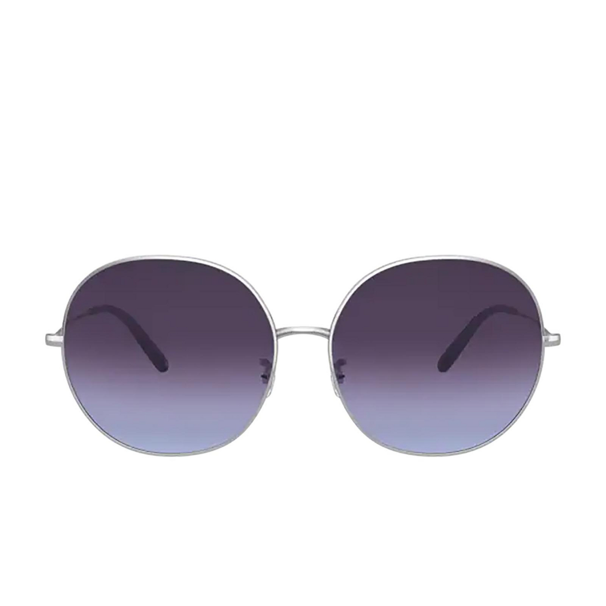 Oliver Peoples® Round Sunglasses: Darlen OV1280S color Silver 503679.