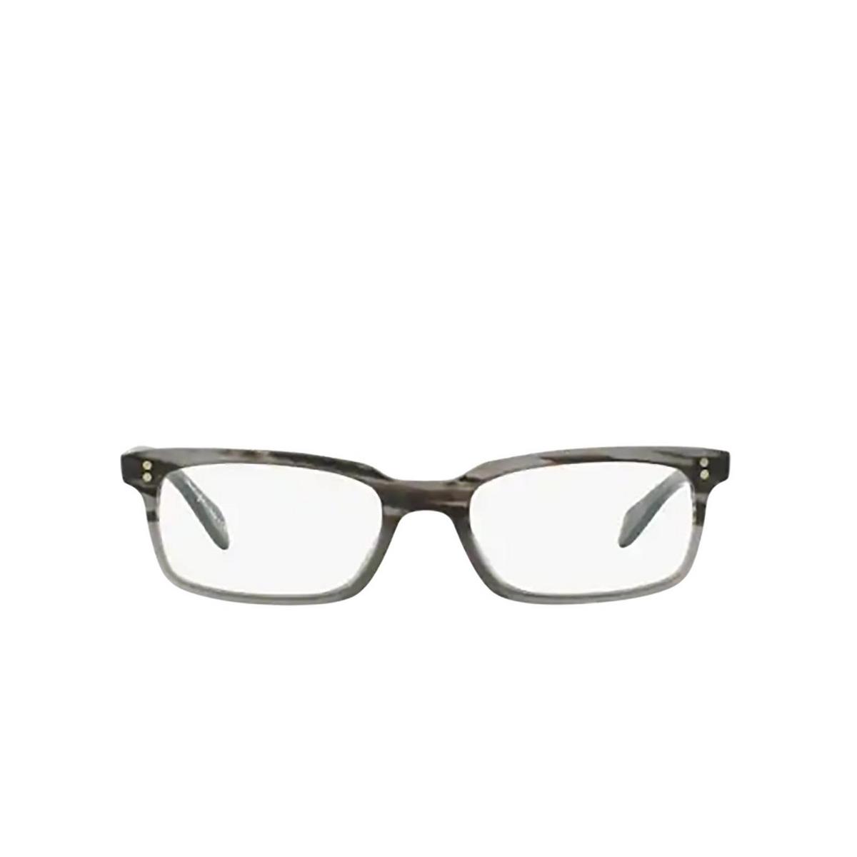 Oliver Peoples® Rectangle Eyeglasses: Denison OV5102 color Matte Storm 1124 - front view.