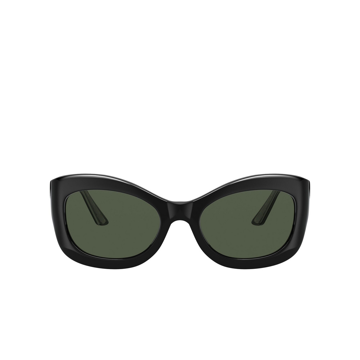 Oliver Peoples® Butterfly Sunglasses: Edina OV5441SU color Black 10059A - front view.