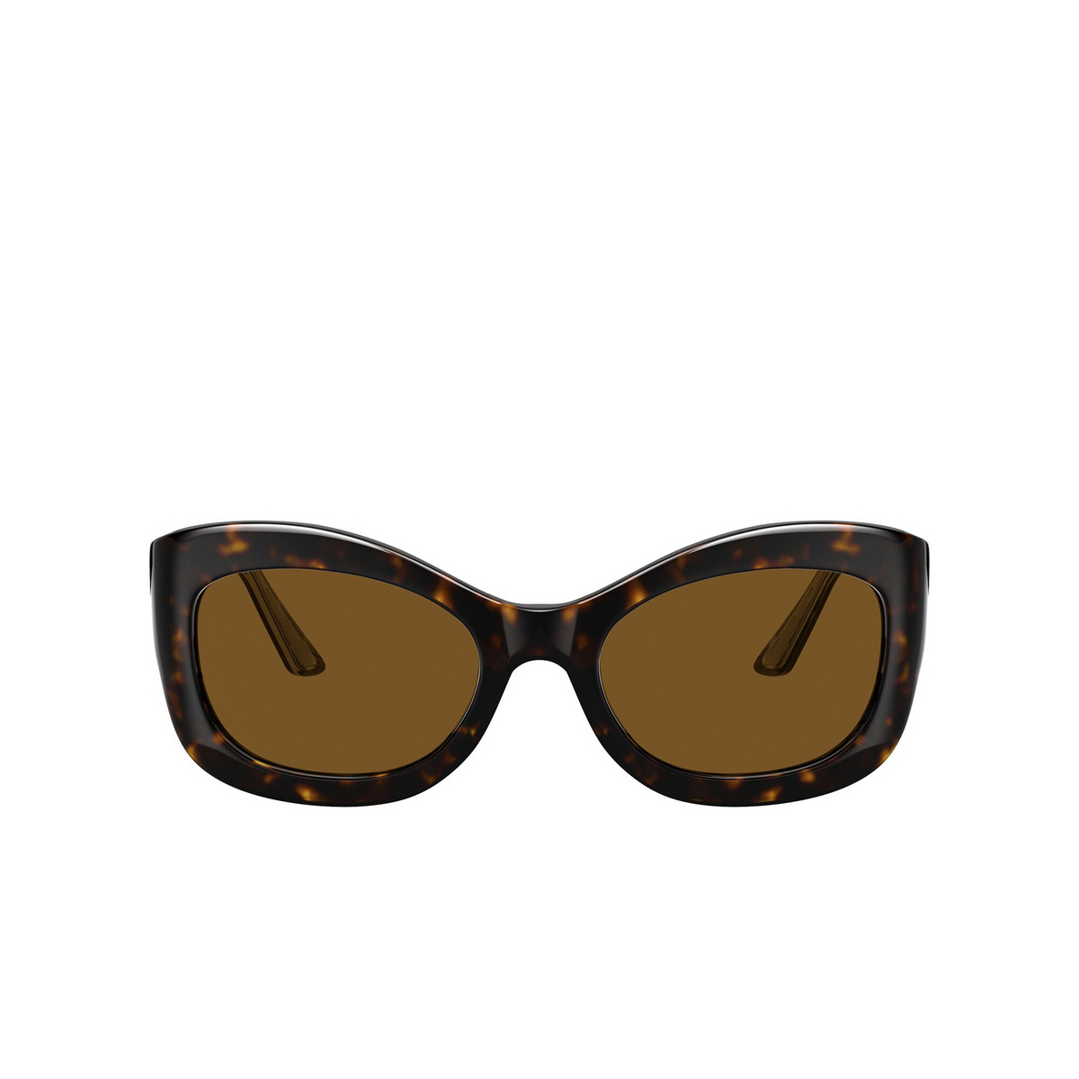 Oliver Peoples® Butterfly Sunglasses: Edina OV5441SU color 362 / Horn 100983 - front view.