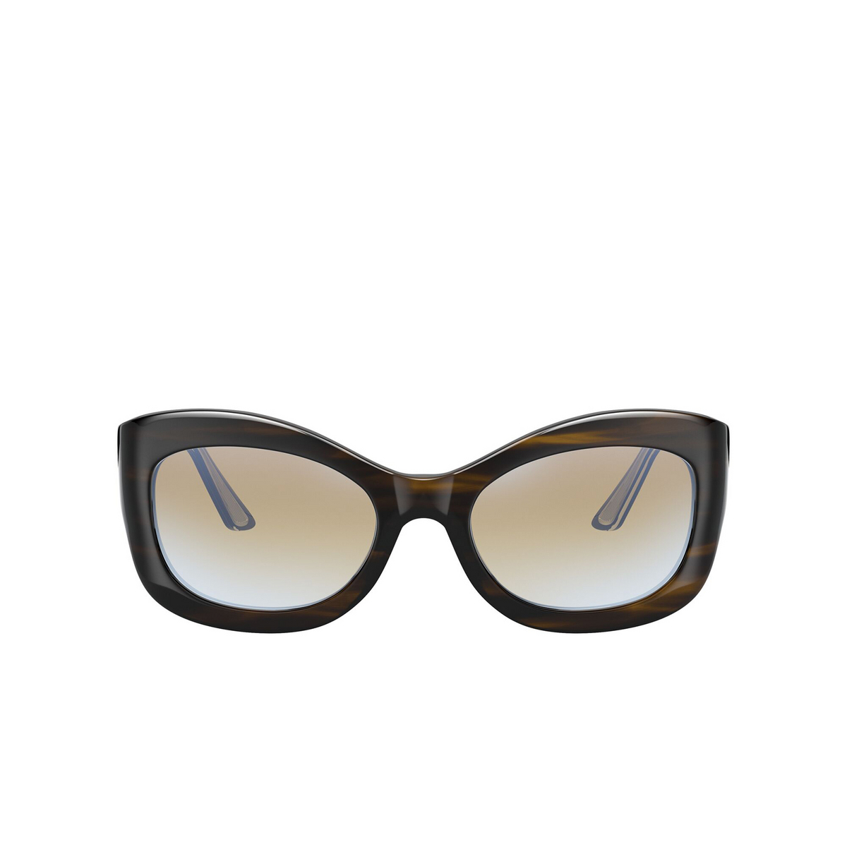 Oliver Peoples® Butterfly Sunglasses: Edina OV5441SU color Bark 1677K6 - front view.
