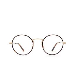 Oliver Peoples® Eyeglasses: Ellerby OV1250T color Dark Mahogany / Soft Gold 5035.