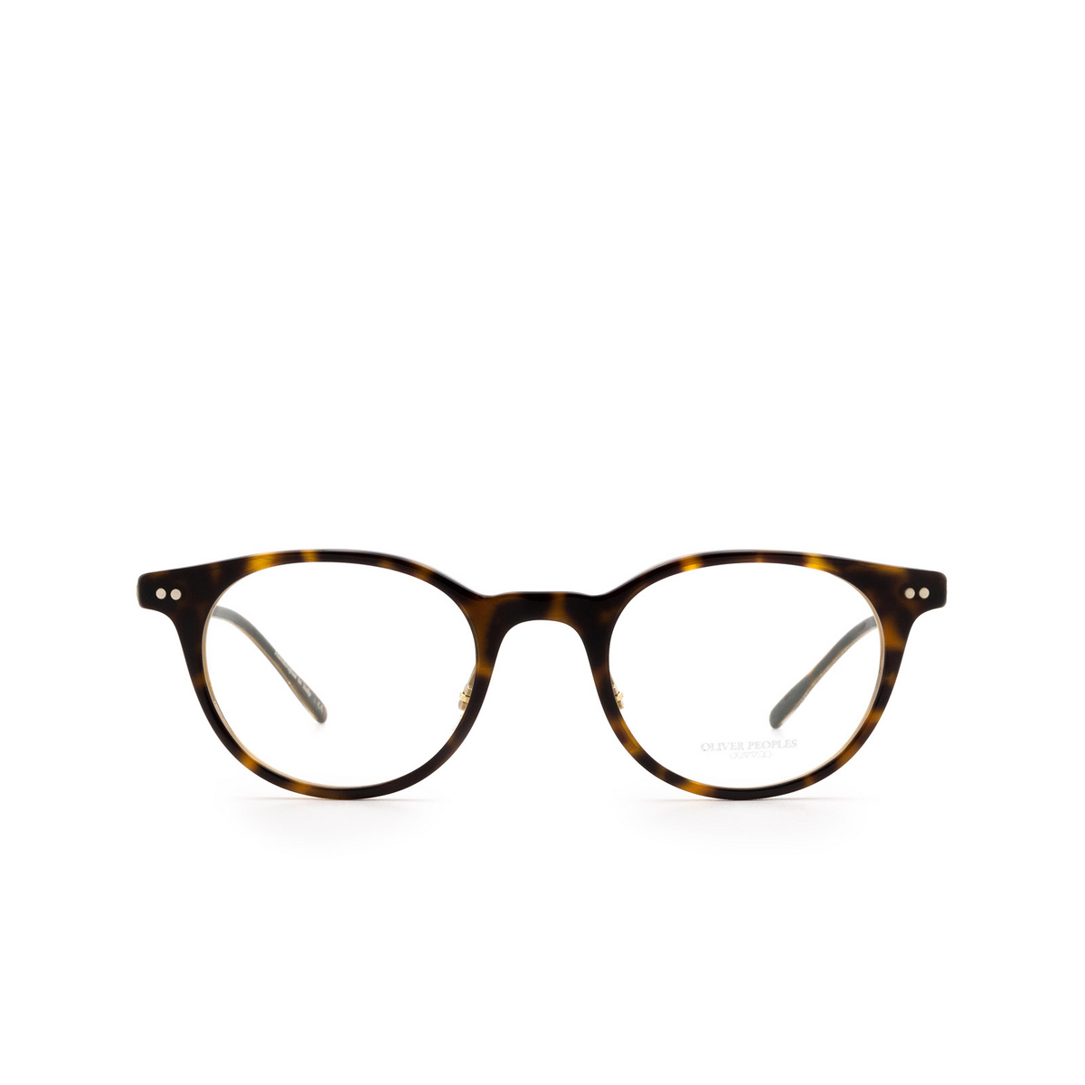 Oliver Peoples® Round Eyeglasses: Elyo OV5383 color 362 / Horn 1666.