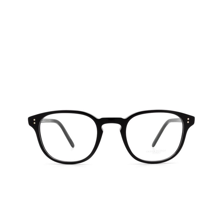 Oliver Peoples® Square Eyeglasses: Fairmont OV5219 color Black 1005.