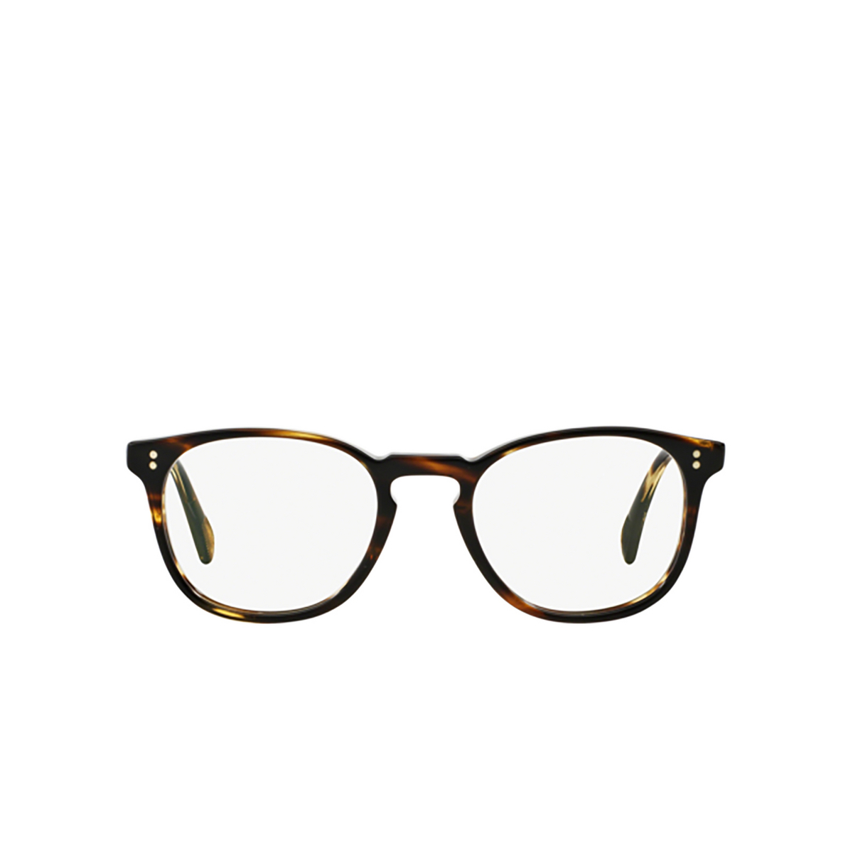Oliver Peoples® Round Eyeglasses: Finley Esq. (u) OV5298U color Cocobolo 1003.