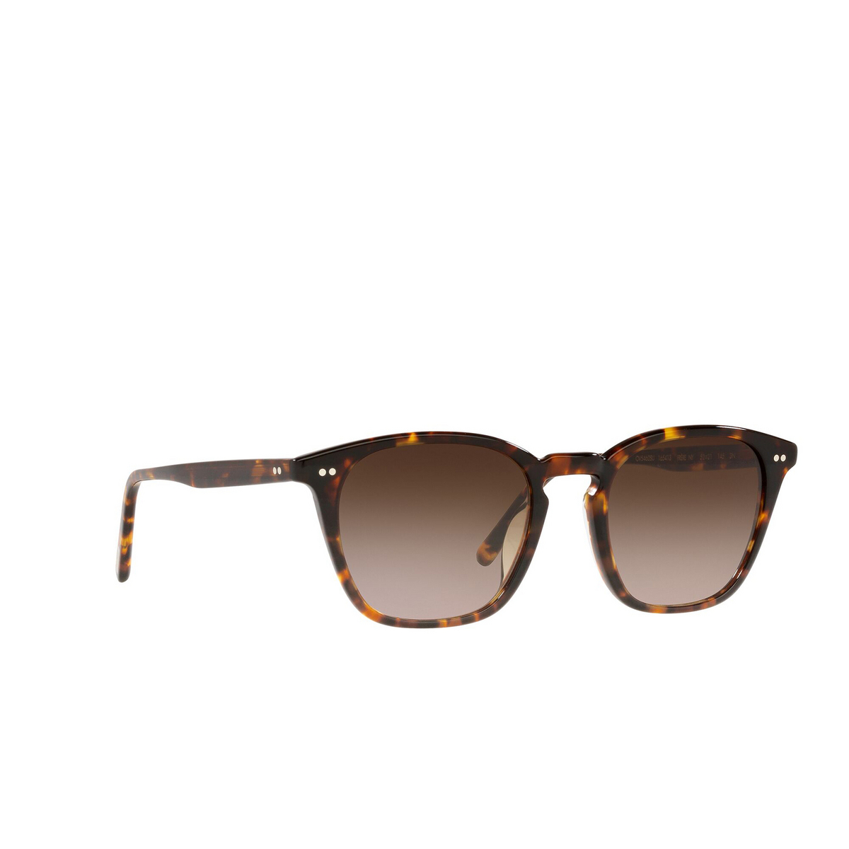 Oliver Peoples® Square Sunglasses: Frère Ny OV5462SU color Dm2 165413 - three-quarters view.