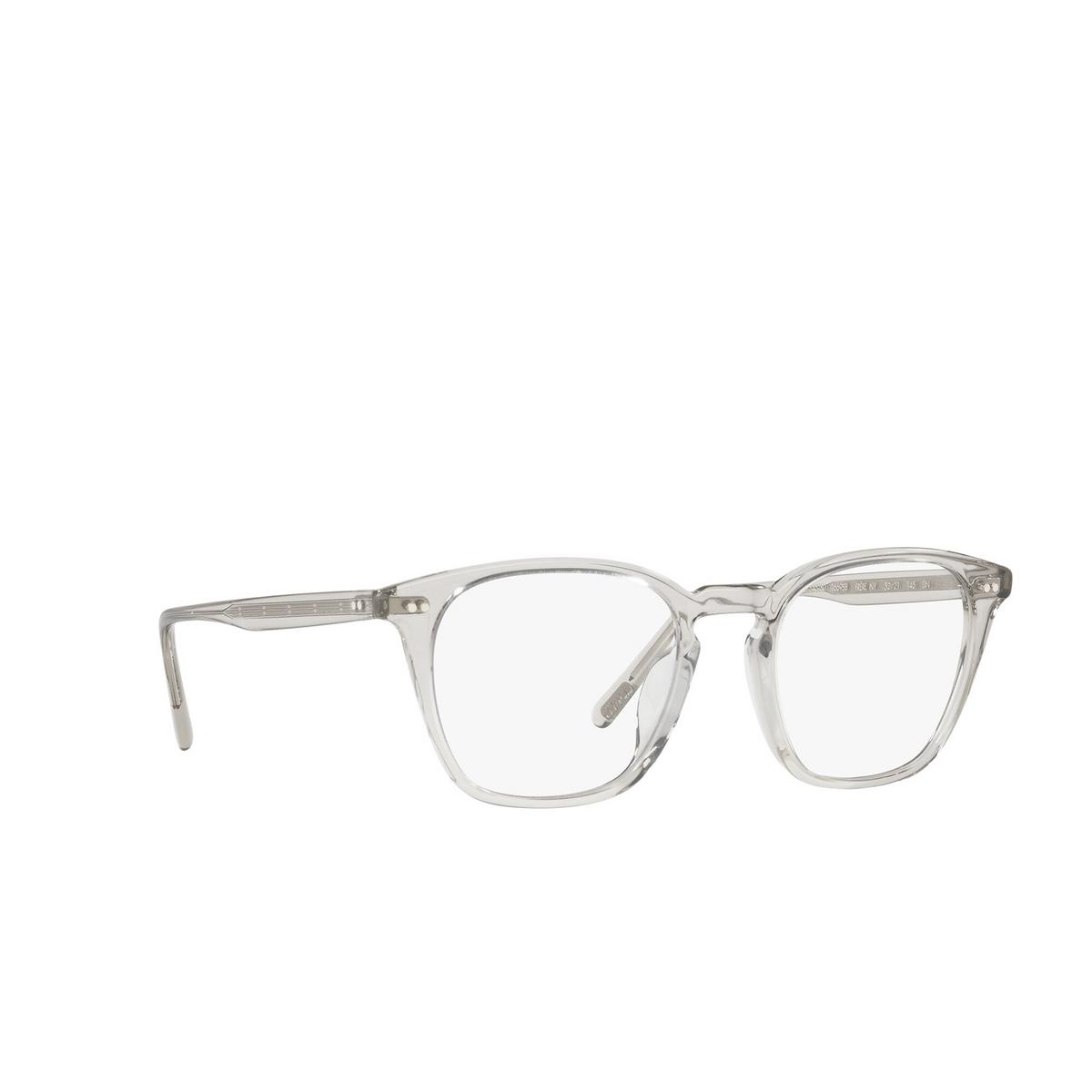 Oliver Peoples® Square Sunglasses: Frère Ny OV5462SU color Black Diamond 1669SB - three-quarters view.