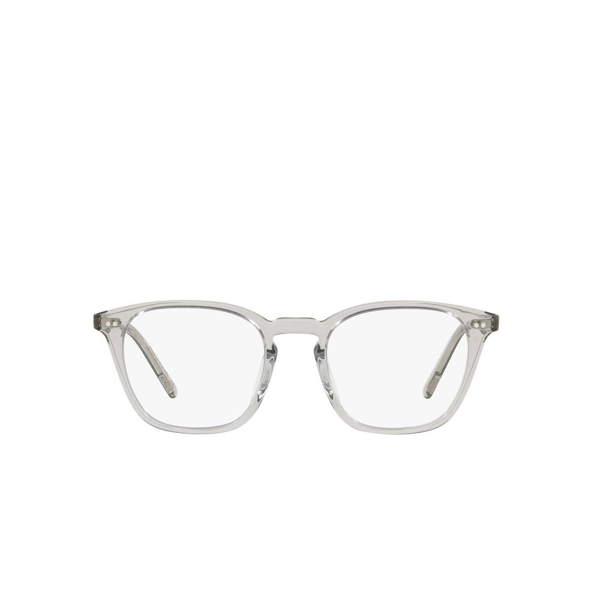 Oliver Peoples® Square Sunglasses: Frère Ny OV5462SU color Black Diamond 1669SB - front view.