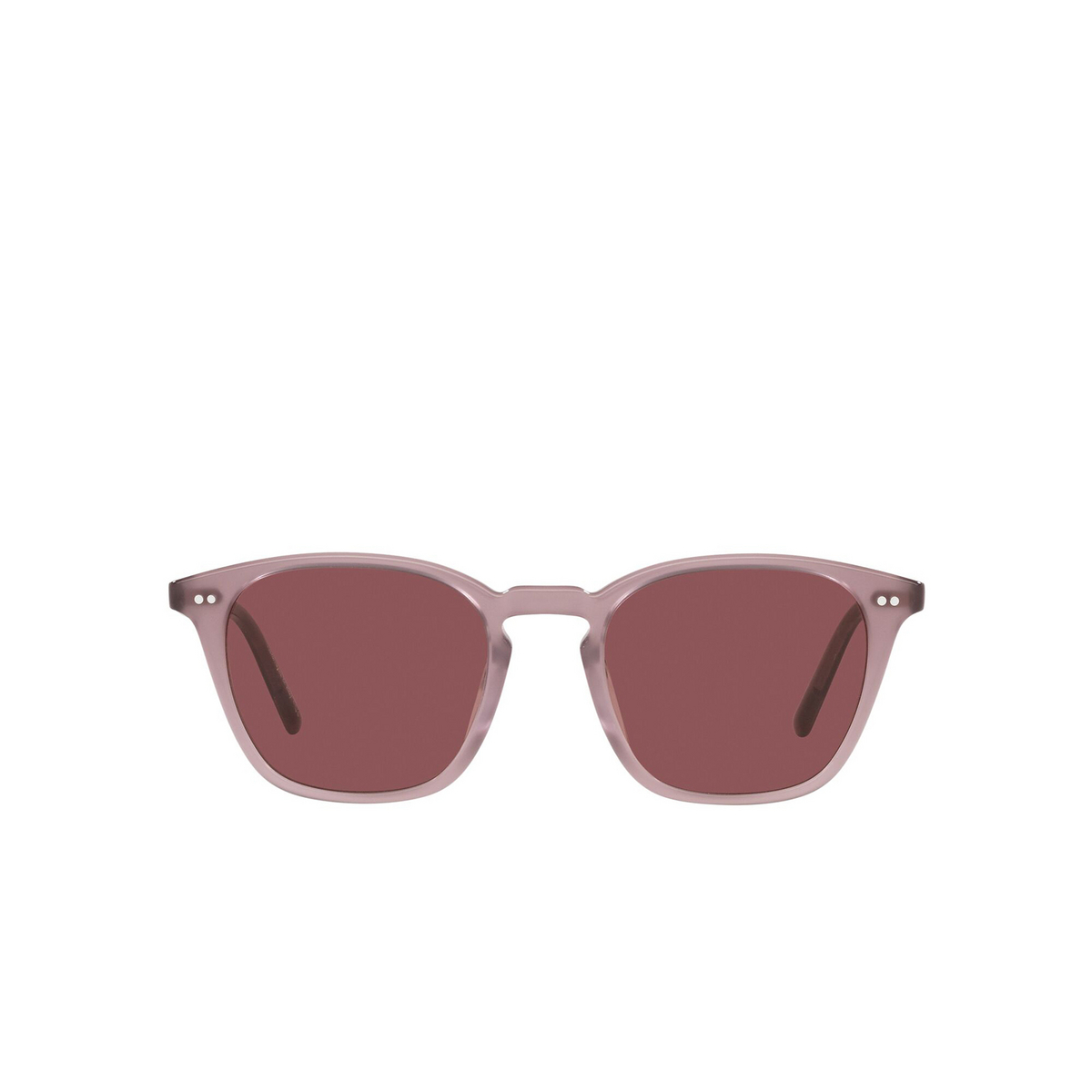 Oliver Peoples® Square Sunglasses: Frère Ny OV5462SU color Mauve 171475 - front view.