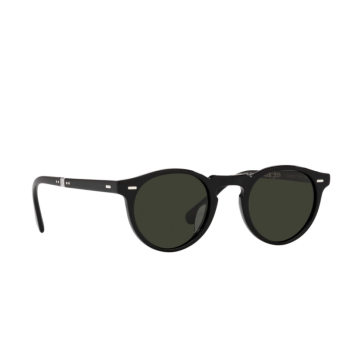 Oliver Peoples® Round Sunglasses: Gregory Peck 1962 OV5456SU color Black 1005P1.