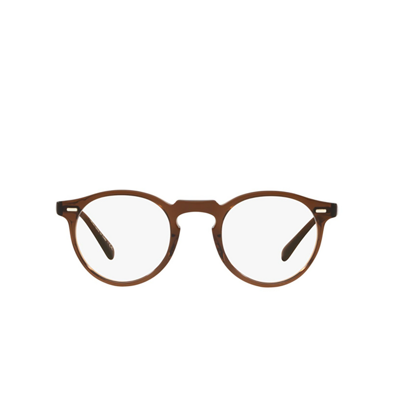 Oliver Peoples® Round Eyeglasses: Gregory Peck OV5186 color Espresso 1625.
