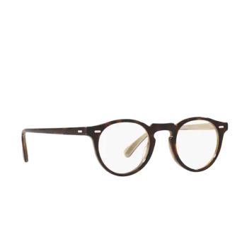 Oliver Peoples® Round Eyeglasses: Gregory Peck OV5186 color 362 / Horn 1666.