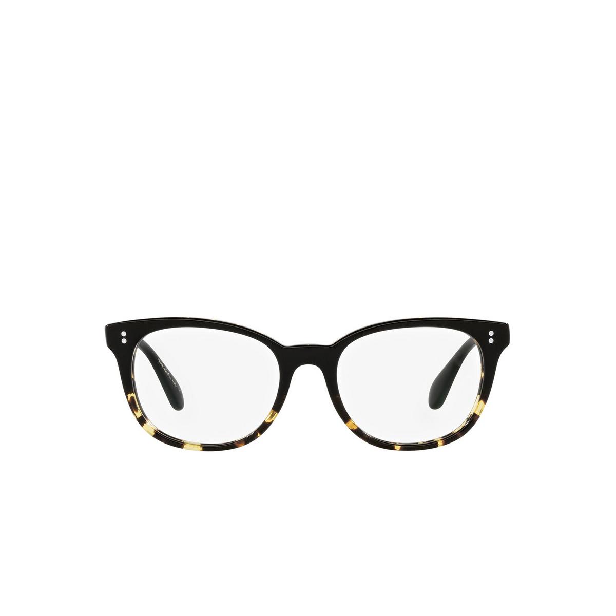 Oliver Peoples® Cat-eye Eyeglasses: Hildie OV5457U color Black / Dtbk Gradient 1178 - front view.