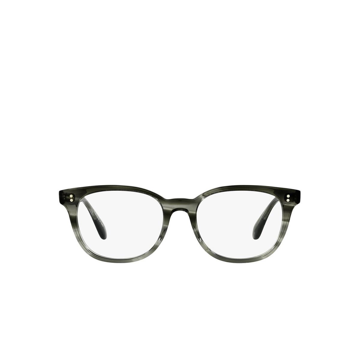 Oliver Peoples® Cat-eye Eyeglasses: Hildie OV5457U color Washed Jade 1705 - front view.