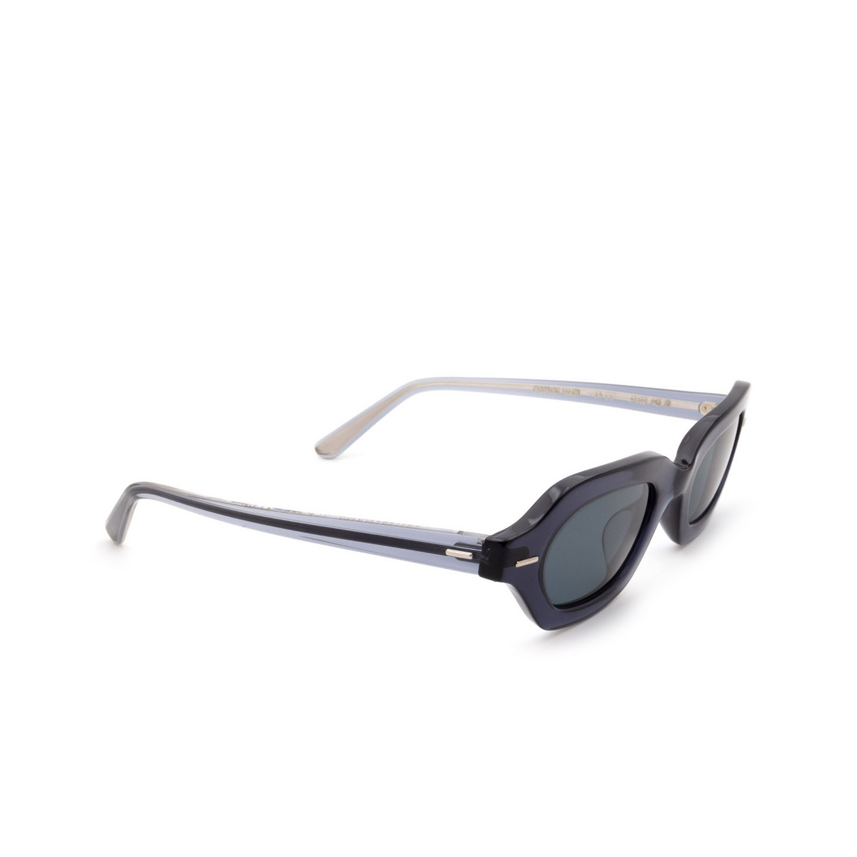 Oliver Peoples® Irregular Sunglasses: La Cc OV5386SU color Vivid Blue 16643R.