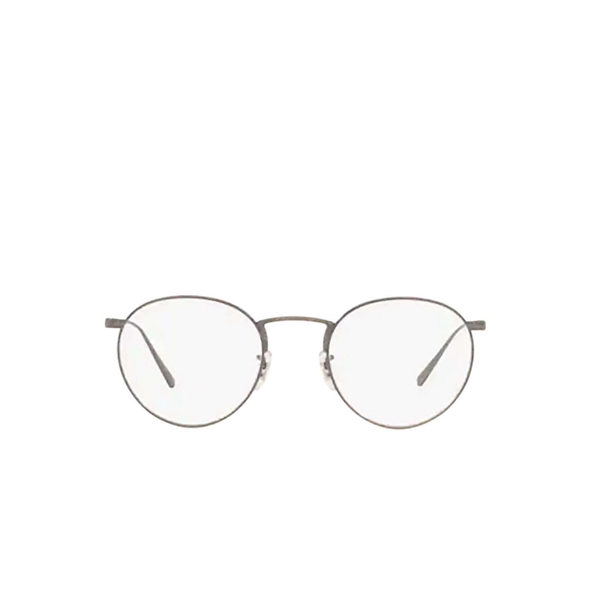 Oliver Peoples® Round Eyeglasses: Lain OV1259T color Pewter 5076.