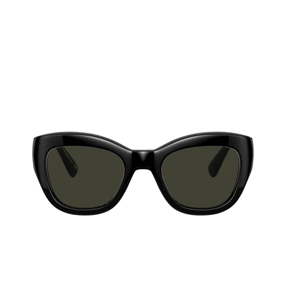 Oliver Peoples® Butterfly Sunglasses: Lalit OV5430SU color Black 100582 - front view.