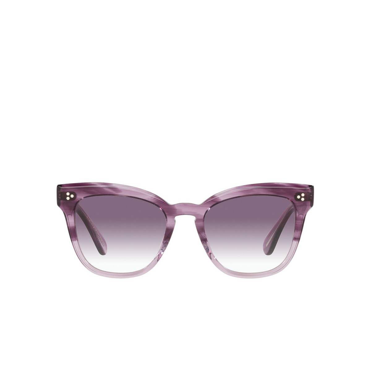 Oliver Peoples® Butterfly Sunglasses: Marianela OV5372SU color Jacaranda Gradient 16918H - front view.
