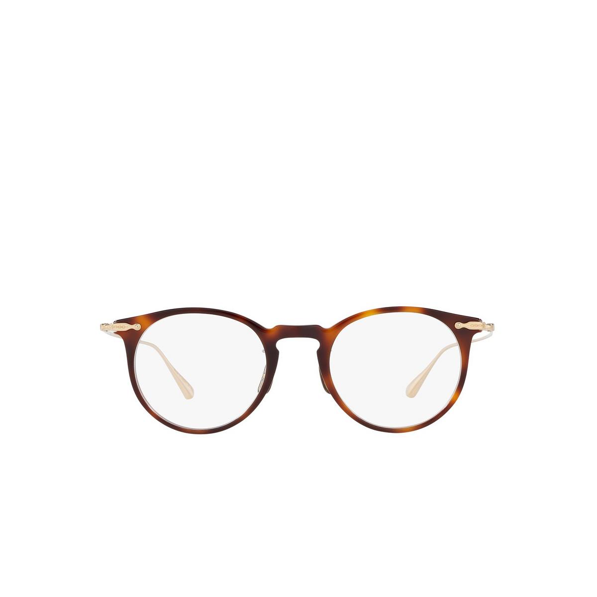 Oliver Peoples® Round Eyeglasses: Marret OV5343D color Tortoise 1007 - front view.
