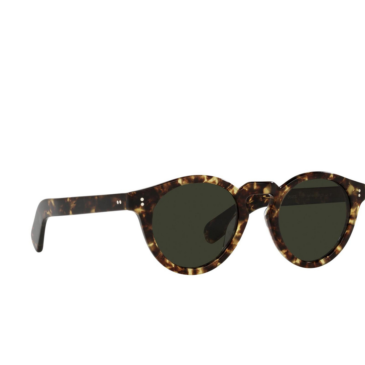 Oliver Peoples® Round Sunglasses: Martineaux OV5450SU color 382 1700P1 - three-quarters view.