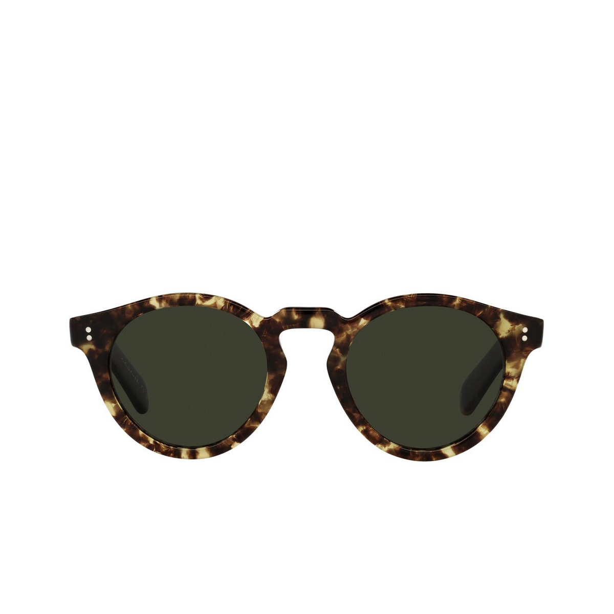 Oliver Peoples® Round Sunglasses: Martineaux OV5450SU color 382 1700P1 - front view.