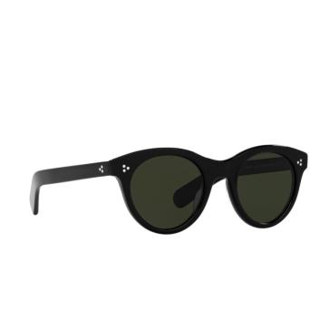 Oliver Peoples® Round Sunglasses: Merrivale OV5451SU color Black 1005P1.