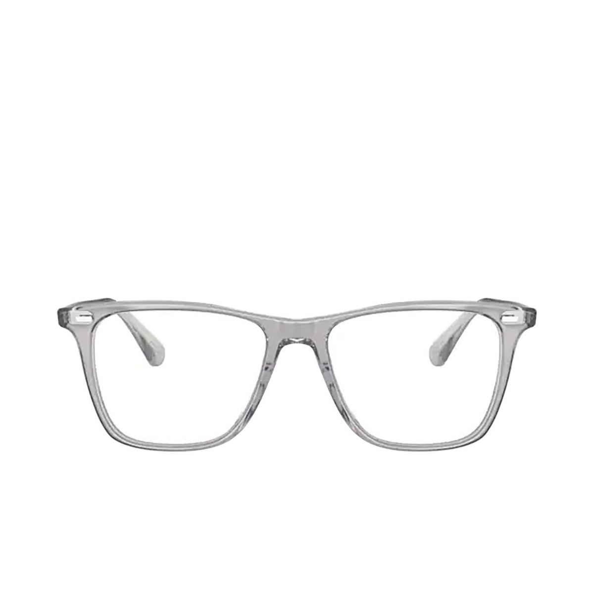 Oliver Peoples® Square Eyeglasses: Ollis OV5437U color Workman Grey 1132 - front view.