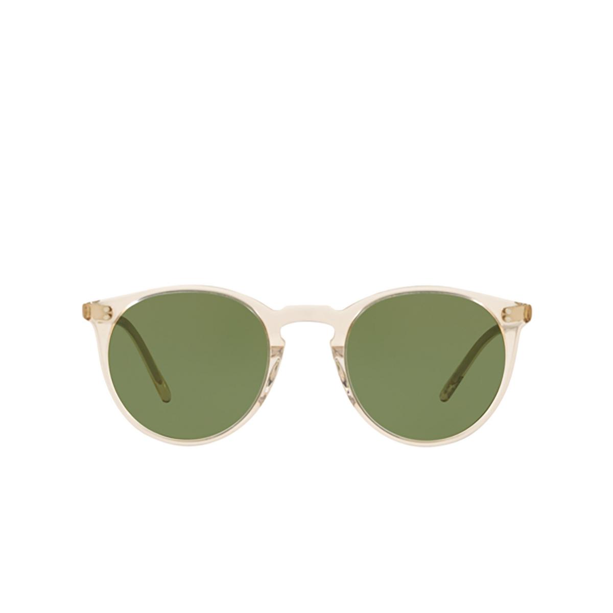 Oliver Peoples® Round Sunglasses: O'malley Sun OV5183S color Buff 109452.