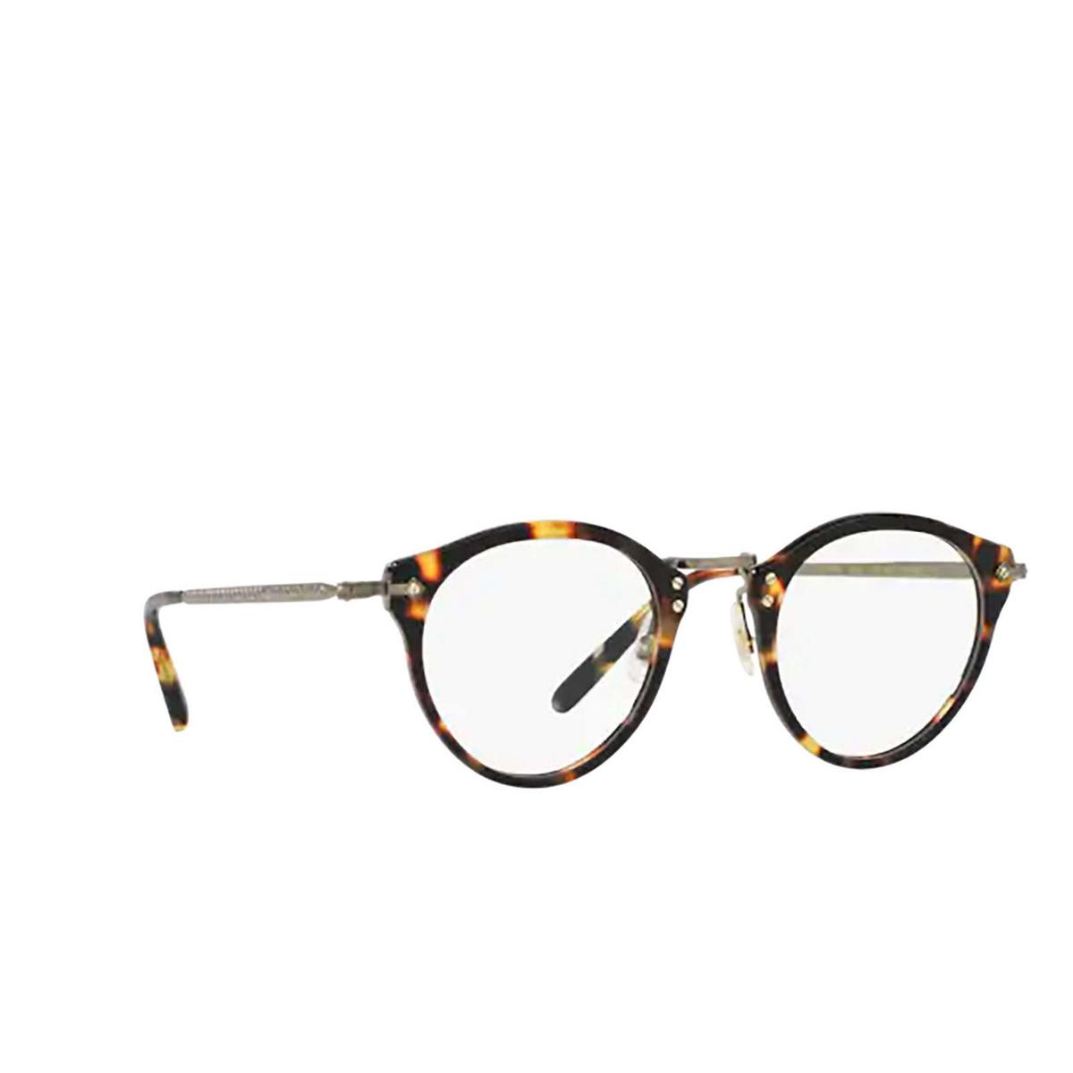 Oliver Peoples® Round Eyeglasses: Op-505 OV5184 color Vintage Dtb 1407 - three-quarters view.