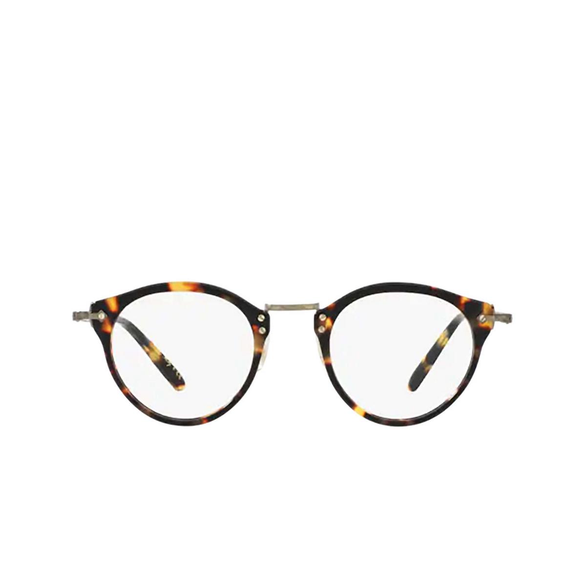Oliver Peoples® Round Eyeglasses: Op-505 OV5184 color Vintage Dtb 1407 - front view.