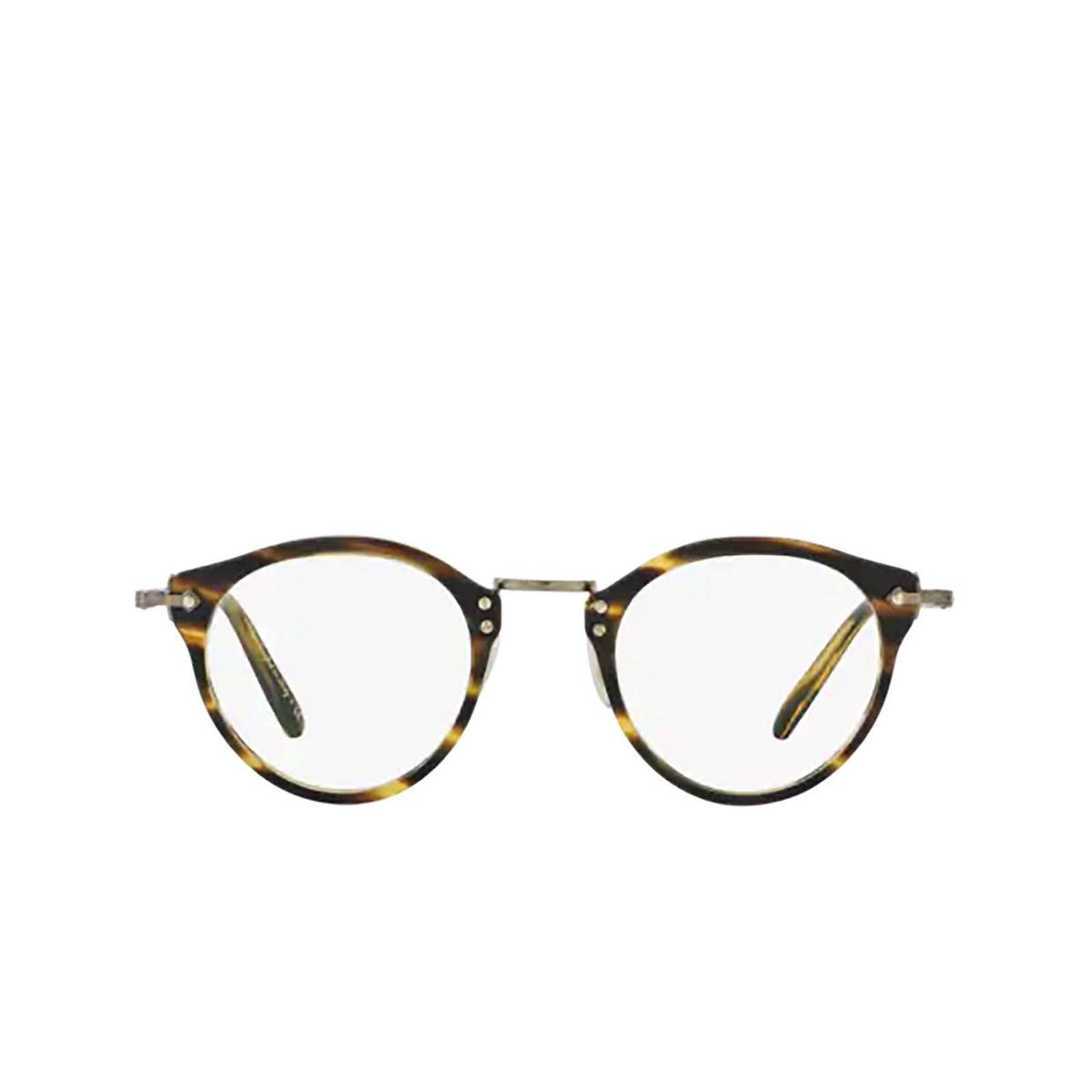 Oliver Peoples® Round Eyeglasses: Op-505 OV5184 color Semi Matte Cocobolo 1474.