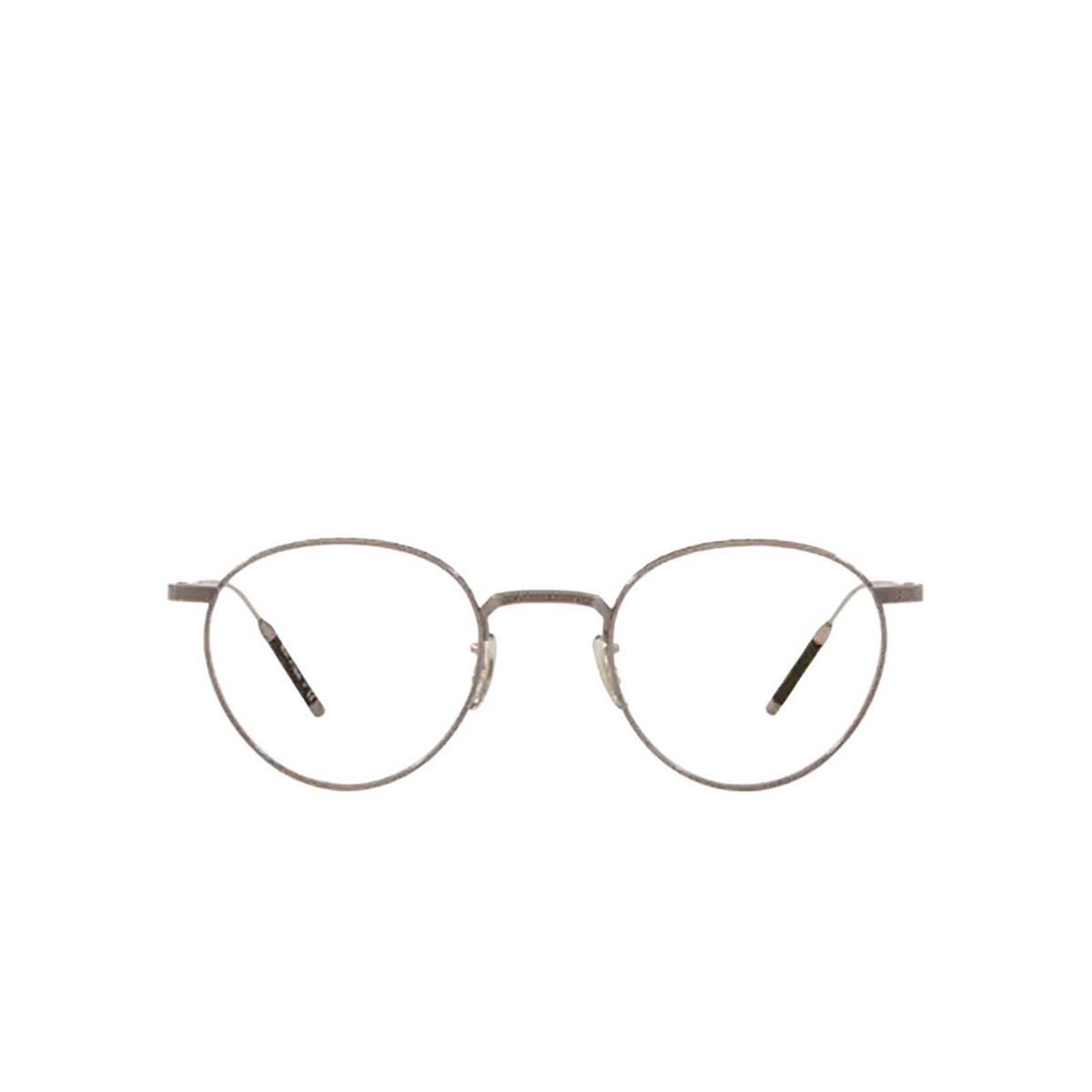 Oliver Peoples® Round Eyeglasses: OV1274T color Pewter 5076.