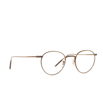 Oliver Peoples® Round Eyeglasses: OV1274T color Antique Gold 5284.