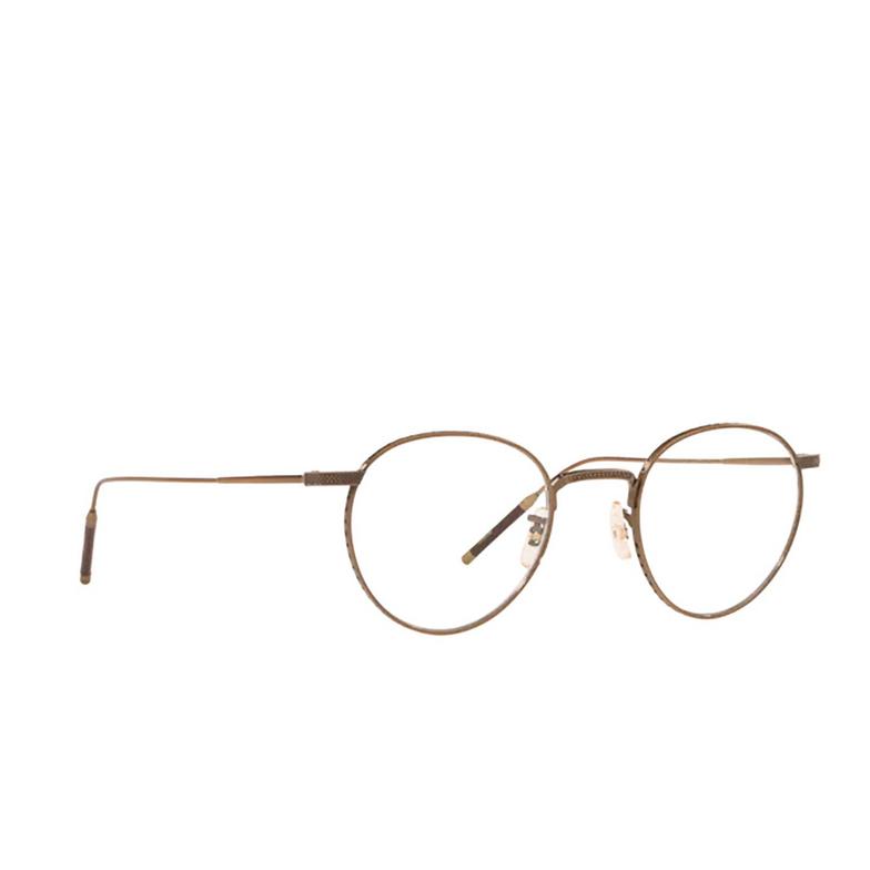 Oliver Peoples® Round Eyeglasses: OV1274T color Antique Gold 5284.