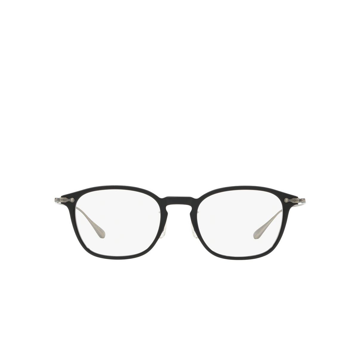 Oliver Peoples® Rectangle Eyeglasses: OV5371D color Black 1005 - front view.
