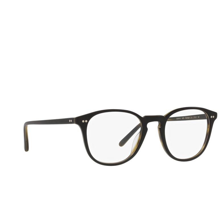 Oliver Peoples® Square Eyeglasses: OV5414U color Semi Matte Black / Olive Tortoise 1453.