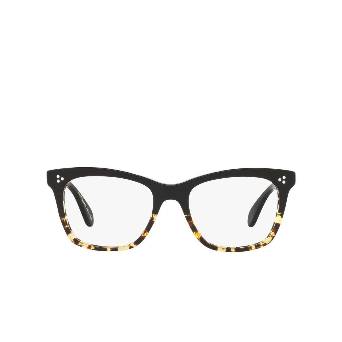 Oliver Peoples® Butterfly Eyeglasses: Penney OV5375U color Black / Dtbk Gradient 1178.