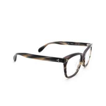 Oliver Peoples® Square Eyeglasses: Penney OV5375U color Blue Cocobolo 1611.