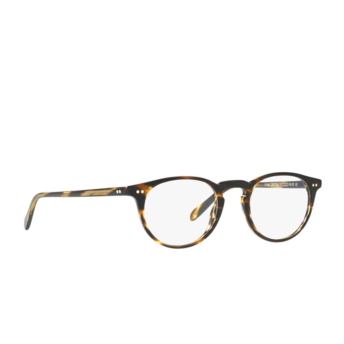 Oliver Peoples® Round Eyeglasses: Riley-r OV5004 color Cocobolo (coco) 1003.