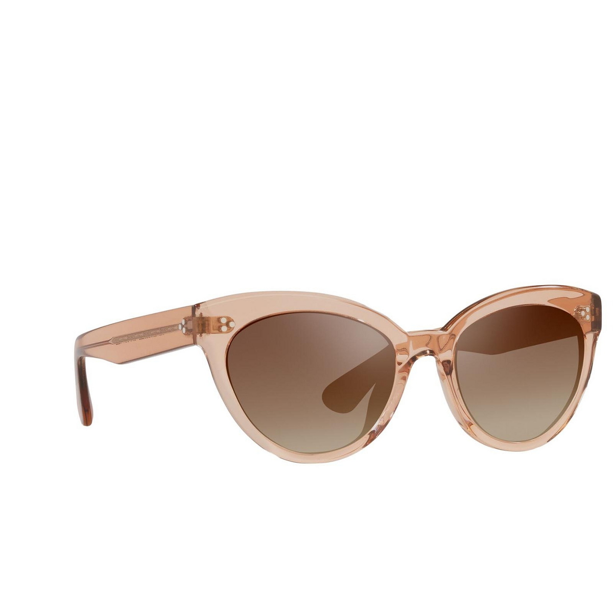 Oliver Peoples® Cat-eye Sunglasses: Roella OV5355SU color Pink 1471Q1 - three-quarters view.