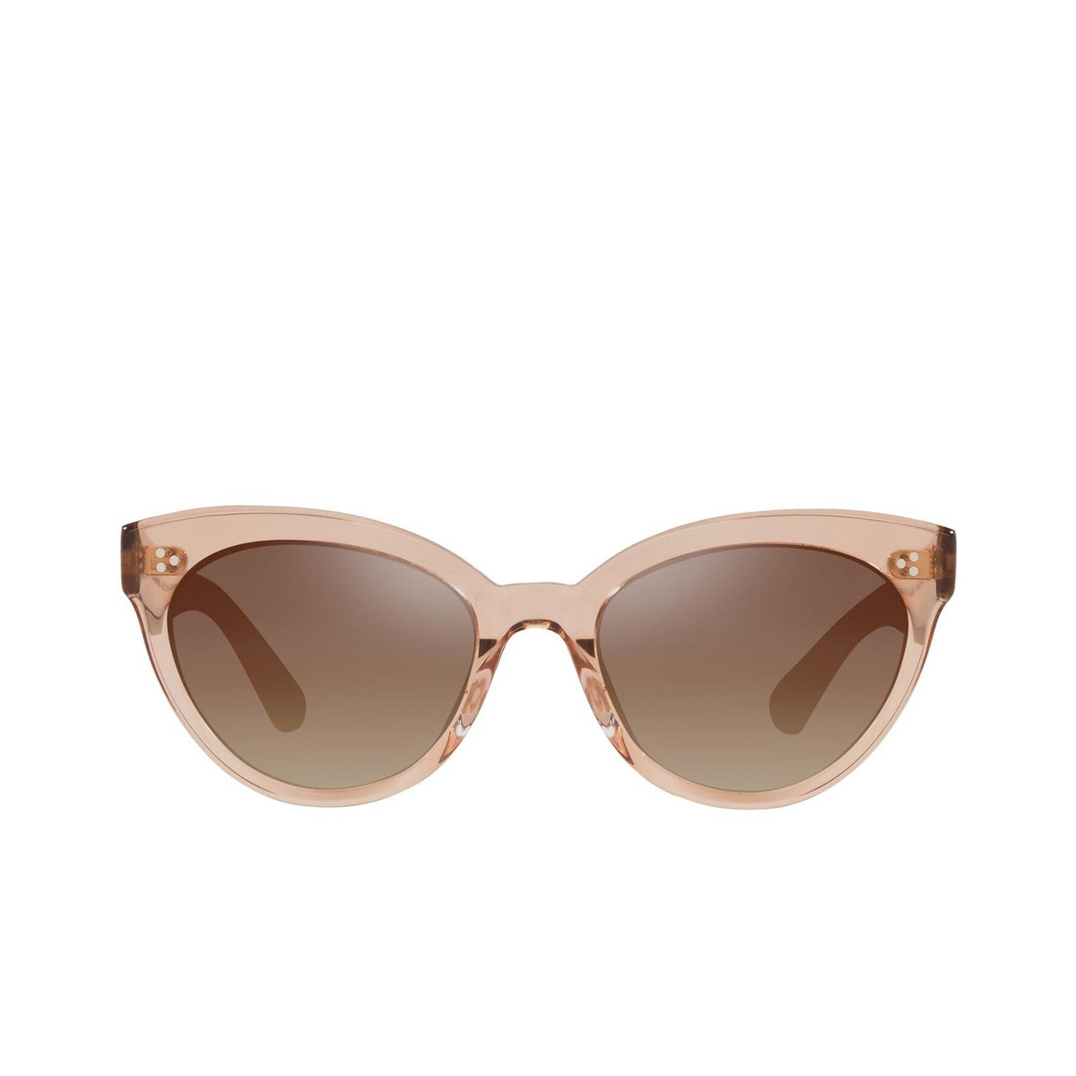 Oliver Peoples® Cat-eye Sunglasses: Roella OV5355SU color Pink 1471Q1 - front view.