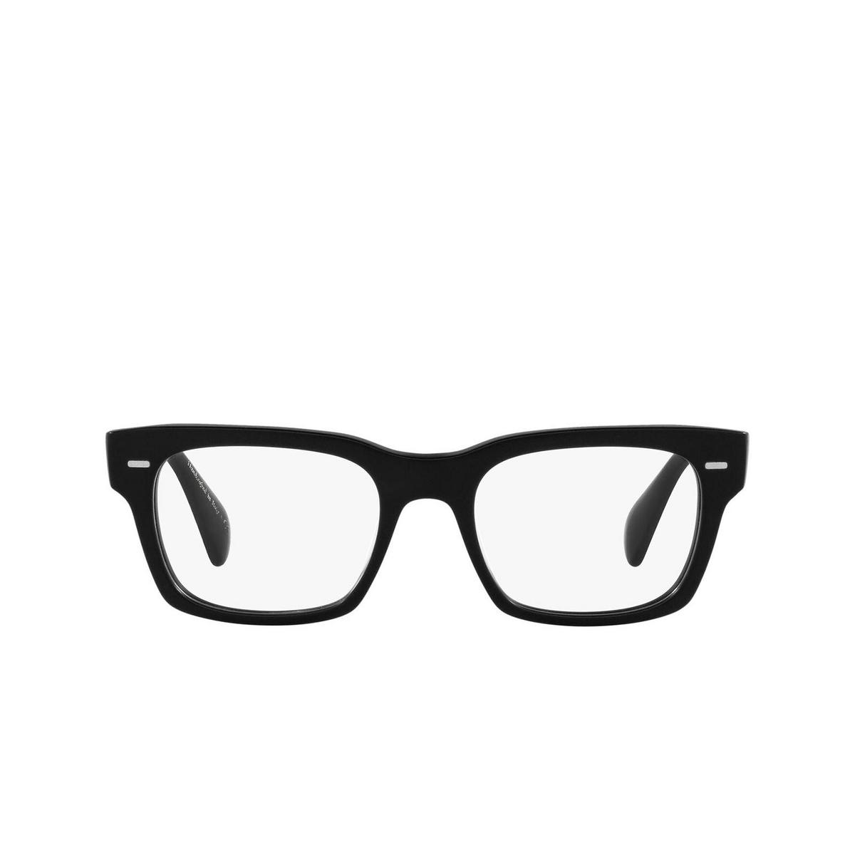 Oliver Peoples® Square Eyeglasses: Ryce OV5332U color Matte Black 1465 - front view.