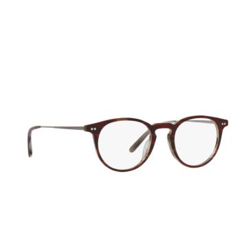 Oliver Peoples® Round Eyeglasses: Ryerson OV5362U color Amaretto / Striped Honey 1310.