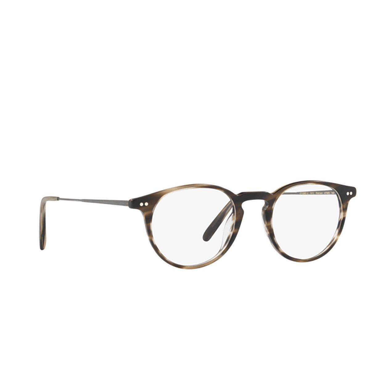 Oliver Peoples® Round Eyeglasses: Ryerson OV5362U color Semi Matte Cinder Cocobolo 1615.