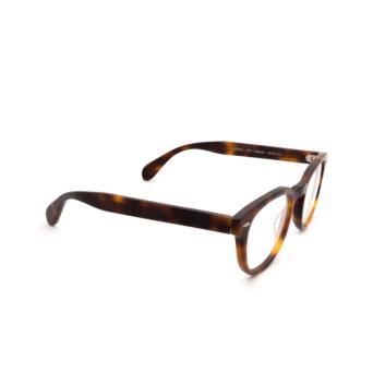 Oliver Peoples® Square Eyeglasses: Sheldrake OV5036 color Semi Matte Dark Mahogany 1552.